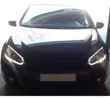 LED LIGHTBAR TAGFAHRLICHT SCHEINWERFER schwarz VW GOLF 6 LINKS RECHTS SONAR