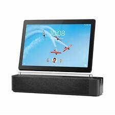 NEW Lenovo Smart Tab P10 4GB/64GB, Wi-Fi, 10.1in Bundle w/ Dock - Aurora Black