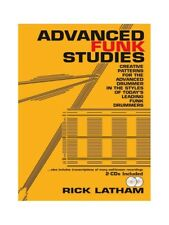 Advanced Funk Studies and CDs Learn to Play Present MUSIC BOOK & CD Drums