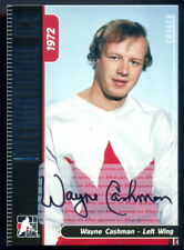 ITG 1972 THE YEAR IN Signed AUTOGRAPH By Wayne Cashman Summit Team Canada V ussr