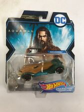 2018 Hot Wheels Dc Character Cars Aquaman Brand New Sealed