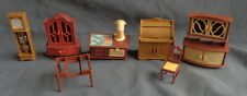 JEAN W. GERMANY 7x plastic poppenhuis meubels dollhouse furniture Puppenstube