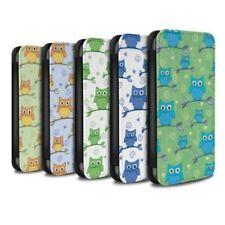 Owl Mobile Phone Flip Cases for Samsung