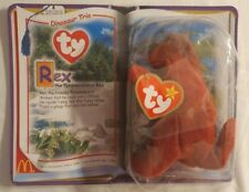 Ty McDonalds Teeny Beanie Rex the Tyrannosaurus 2000