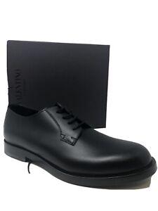 $820 New Valentino Garavani Mens Black Shoes Rockstuds Size 12 US 11 UK 45 EU