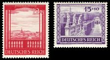 EBS Germany 1941 Vienna Fair Wiener Messe set Michel No. 804-805 MH*
