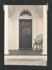 Vintage Photograph 1992 William Blunt Door & Chair Platinum Palladium Print
