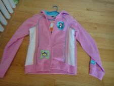 BOBBY JACK HOODIES FOR GIRL: SIZE: X-LARGE:COLOR:  PINK: ZIPPER CLOSED