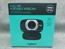 NEW | Logitech C615 1080P FULL HD Portable Webcam | AF Autofocus | Black
