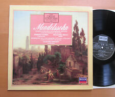 410 494-1 Ruggiero Ricci Mendelssohn Violin Concerto Pierino Gamba EX/EX no book