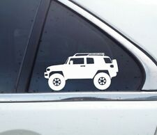 2X Lifted 4x4 stickers - for Toyota FJ Cruiser | Offroad