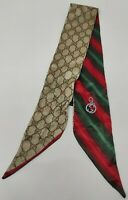 Cravatta gucci GG 100% pura seta tie silk original made in italy handmade