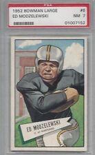 1952 Bowman LARGE football card #8 Ed Modzelewski, Pittsburgh Steelers PSA 7