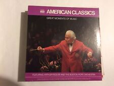 Arthur Fiedler And The Boston Pops Orchestra ‎– Great Moments Of Music: American