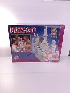 """PUZZ-3D Bavarian Castle 1000 Pieces Puzzle Werbbit Sealed 13x22x16"""" Upright Pcs."""