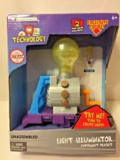 Basher Science Light Illuminator Playset w/2 games cards & exclusive figure 6+