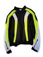 Spada RPM Jacket Blk/Wht/Flo XXXL Motorcycle Motorbike Road Bike