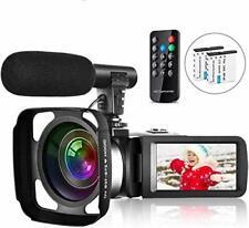 Video Camera Camcorder Vlogging Camera for Youtube Full HD 2.7K 30FPS 30 MP IR