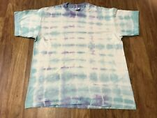 New listing Large - Vtg 90s Anvil Knitwear Single Stitch Tie Dye Cotton T-Shirt Made Usa