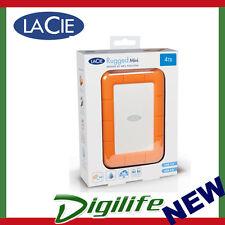 LaCie 4TB USB 3.0 Rugged Mini Portable Mobile Hard Drive - LAC9000633