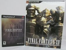 FINAL FANTASY XII: Collector's Edition Complete W/ Limited Eedition Guide (PS2)