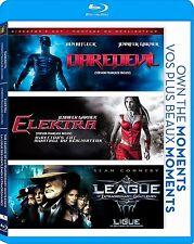 Daredevil + Elektra + The League Of Extraordinary Gentlemen *New Blu-Ray Set*