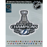 2020 NHL Stanley Cup Final Champions Patch Tampa Bay Lightning Jersey