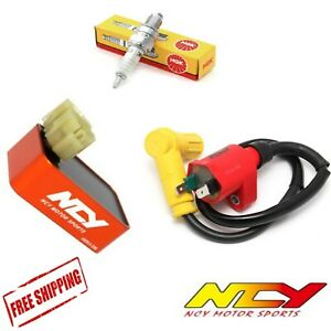 Scooter GY6 50cc 150cc NCY CDI & Ignition Coil Power Performance Upgrade Kit