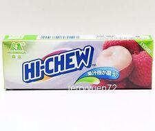 Morinaga Hi-Chew LYCHEE Japanese Japan Chewy Candy Soft Fruit Sweets 7pcs