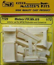 CMK 1/72 Meteor FR. Mk8/9 exterior set for MPM / Xtrakit  # 7129