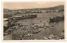 Carte postale semi ancienne Toulon Rade Var 83 bateau port cpsa