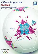 * 2012 LONDON OLYMPICS FOOTBALL OFFICIAL TOURNAMENT PROGRAMME (TEAM GB) *