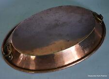 French gratin copper pan  professional casseroles en cuivre