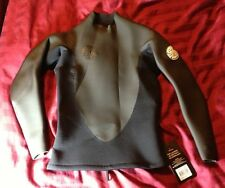 RIPCURL  Rubber Sole L/S top 2mm Small Msrp $84.95 Wetsuit Jacket