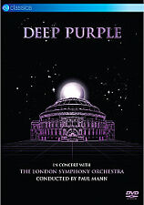 DEEP PURPLE - In Concert With The London Symphony Orchestra [DVD]...