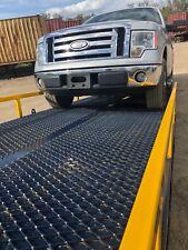 "Yard Dock Trailer, Forklift Loading Ramp 24,000 lbs. 85"" wide (82.5 Usable)"