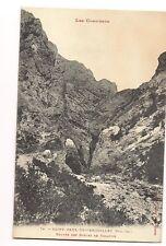 les corbières  saint-paul-de-fenouillet  entrée des gorges de galamus