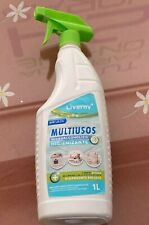 Multiusos Hidroalcoholico Higienizante Sin Lejia 1 Litro Limpia Maxima Eficacia