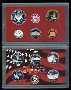 2007-S United States Mint Silver Proof Set w/ CoA JE658