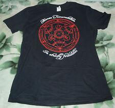 Brand New Full Metal Alchemist Alchemy Human Transmutation Black T Shirt, Size L