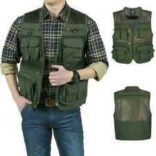 Men's Mesh Photography Fishing Travel Outdoor Quick Vest Jackets Dry V2L8