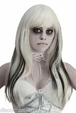 GHOSTLY SPIRITS PHANTOM WIG ZOMBIE UNDEAD ADULT HALLOWEEN COSTUME ACCESSORY