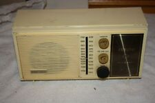 "1968 Vintage ZENITH MODEL Z412 FM/AM TABLE RADIO - ""THE ASTOR""  USED"