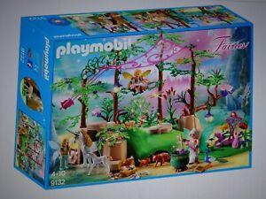 Playmobil Fairies 9132 Magischer Feenwald in neuwertigem Zustand