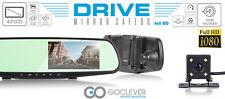 GoClever SENSOR DE APARCAMIENTO HD RETROVISOR Dashcam cámara del coche monitor