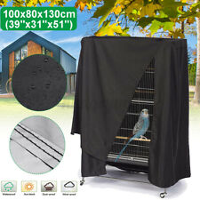 Large Bird Cage Cover Durable Lightweight Solid Parrot Sleep Helper Dus