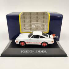Altaya Porsche 911 Carrera White 1/43 Diecast Models Limited Edition Collection