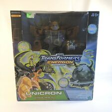 2003 Transformers Energon Unicron - New Box Hasbro Takara Ships Free Boy Toy