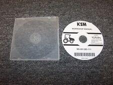 Kubota M5-091 & M5-111 Tractor Workshop Shop Service Repair Manual CD