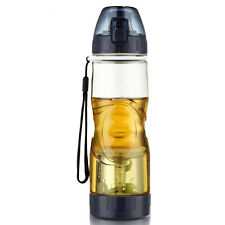Plastic Water Bottle With Tea Infuser/Filter 580Ml